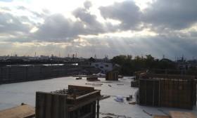 西館新築工事
